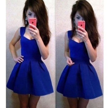 2015 new sexy halter Slim sleeveless sexy dress tutu dress = 1753492228