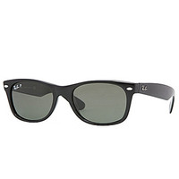 Ray-Ban Polarized New Wayfarer Sunglasses - Black