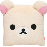 Korilakkuma Face Nap Pillow Cushion