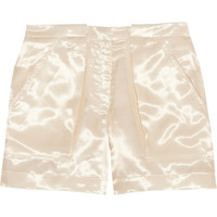 Band of Outsiders | Flight satin-twill shorts | NET-A-PORTER.COM