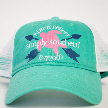 Keep It Preppy Hat | Simply Southern