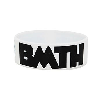 Bring Me The Horizon BMTH Logo Rubber Bracelet | Hot Topic