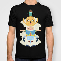 Adventure Totem | Adventure Time T-shirt by Daniel Mackey