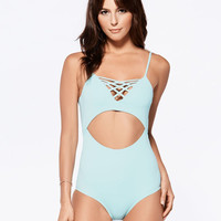 L*Space Sunset Strip Madi One Piece Swimsuit - Seaglass