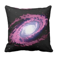 The Nebula X beautiful watercolour artwork 2 side Throw Pillow