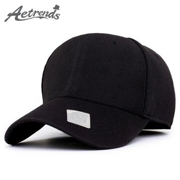 [AETRENDS] 4 Solid Color Sports Baseball Cap Polo Hats for Men or Women bone golf hat