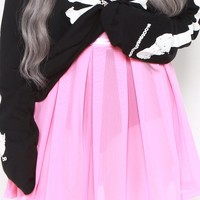 Behind The Pew Pleated Skirt (Baby Pink)