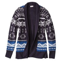 Mossimo Supply Co. Junior's Fair Isle Cardigan - Assorted Colors