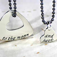 Couples necklaces in sterling silver