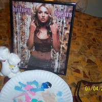 Picture Photo Frame Home Fashion Superstar Model cover Album Photo BRITNEY SPEARS Childrens Girls Teens Bedroom