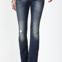 Lone Rider Mid-Rise Boot Cut Jeans