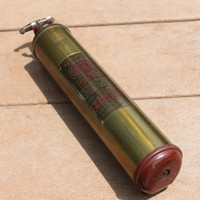 1940s Brass Quick Aid Fire Extinguisher Model 95-HD