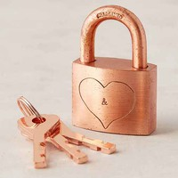 Lover's Lock And Keys