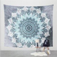Drop Shipping 2017 Hot Bohemian Mandala Tapestry Wall Hanging Moroccan Indian Printed Decorative Wall Tapestries 150X130Cm