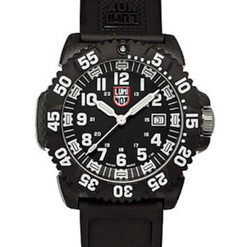 Luminox EVO Navy SEAL Colormark - White Indicators - Double Pin Buckle Strap