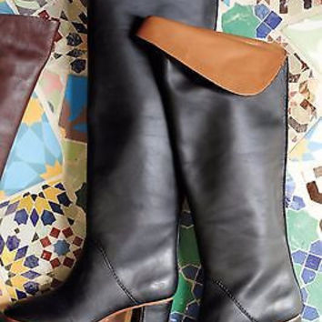 NIB $288 Anthropologie Rory Knee Boots Sz 36 - By LeifNotes
