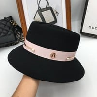 Winter hats for women The new wool hat fashion fisherman hat bucket hats