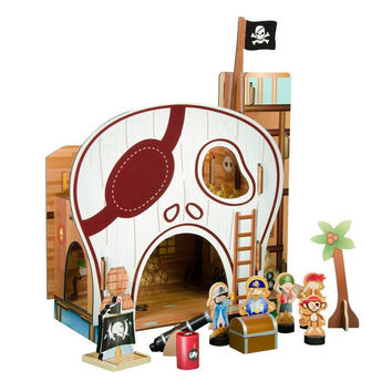 Teamson Kids -  Pirate Table Top Play Set-TD-11822A