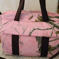 Pink Realtree Camo Diaper Bag w/change pad by EMIJANE by emijane