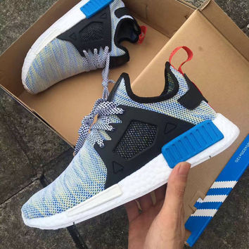 """Adidas"" NMD XR1 Duck Camo Women Men Running Sport Casual Shoes Sneakers Camouflage blue"