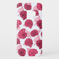 Pink Snails And Leaves Nature Lover Pattern Case-Mate Samsung Galaxy S9 Case