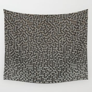 No Way Out Wall Tapestry by Lyle Hatch