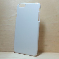 Hard Plastic Case for iphone 6 Plus (5.5 inches) - White