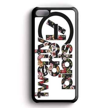 Floral Twenty One Pilots iPhone 5C Case