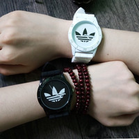 Adidas Silicone Strap Watch - White/Black