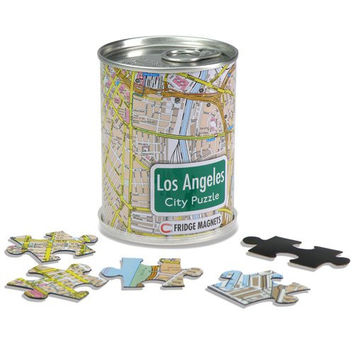GeoToys Los Angeles City Magnetic Fridge Magnet Puzzle