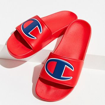 Champion Big C Logo Slide Sandal | Urban Outfitters