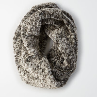 AEO Plush Twisted Snood, Gray
