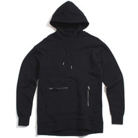 Rugger Hooded Sweatshirt Black