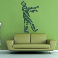 It's Scare How Ready Our Generation is for the Zombie Apocalypse Wall Decal