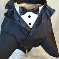 RockinDogs Custom Dog Wedding Tuxedo Tails