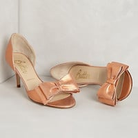 Metallic D'Orsay Pumps