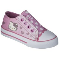 Toddler Girl's Hello Kitty Canvas Sneaker - Pink