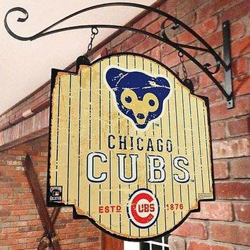 Chicago Cubs MLB Indoor/Outdoor Wall Mount Bar and Tavern Sign