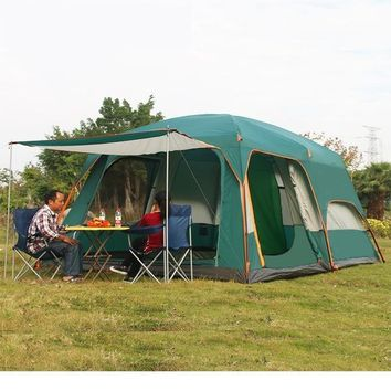 6-8 people multi family party tents