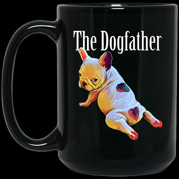 French bulldog Mug - The Dogfather