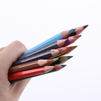 12 Colors Pro Metallic Non-toxic Drawing Pencils Sketching Drawing Finest