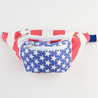 Extreme 80S 'Merica Fanny Pack Red/White/Blue One Size For Men 23198594801