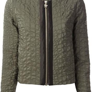 Moncler Gamme Rouge Cropped Quilted Jacket