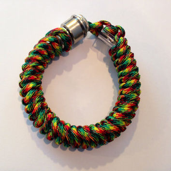 Jamaican Me Crazy Secret Pipe Bracelet w/ FREE SHIPPING