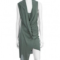 Scoop NYC | Helmut Lang :: Drape Front Dress :: Dresses - WOMEN