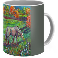Horse Pasture Coffee Mug for Sale by Kendall Kessler