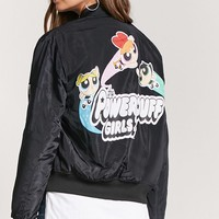 Powerpuff Girls Graphic Bomber Jacket