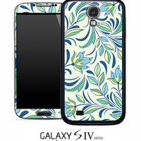 Floral Design Skin for the Samsung Galaxy S4, S3, S2, Galaxy Note 1 or 2