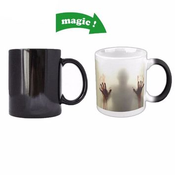 The Walking Dead Zombie Heat Reveal Mug