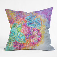 Stephanie Corfee Flourish Throw Pillow